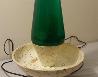 1970s Enchantress Planter Lava Lamp: Underwriters Laboratories Inc