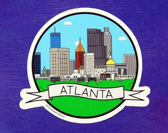 Atlanta Vinyl Sticker