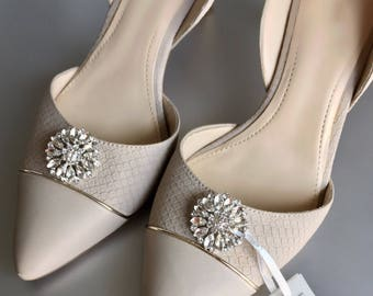 Wedding Shoe Clips, Shoe clips, Rhinestone Shoe Clips, Bridal Shoe Clips, Clips for Wedding Shoes, Bridal Shoes, Gifts for her