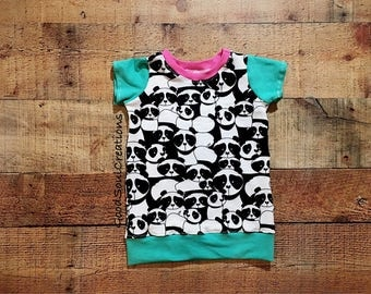 Panda Playful Tunic - Size 6m to 12m