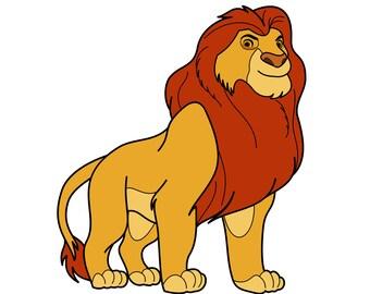 Lion King SVG, Lion King clipart, Simba SVG, Mufasa svg, Disney svg, Simba clipart, Timon, Pumba, svg files, Silhouette, Cricut