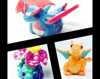 Pokémon Clay Figures