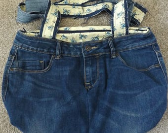Denim Jeans shoulder bag