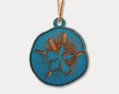 Sand Dollar Ornament- Woo...