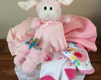 Gorgeous Baby Girl Gift Basket