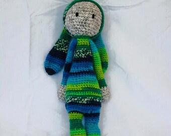 Baxter the Bunny Lalylala Amigurumi Doll
