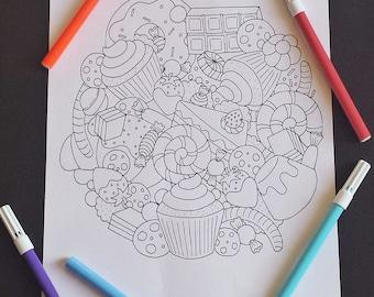 Art therapy sweet treats