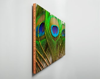 Bamboo Wall Art - Photo / Artwork On Bamboo - Fine Art - Handcrafted in USA - (Mother Nature Abstract Series 3)   **FREE SHIPPING **