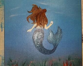 Mermaid found a Pearl