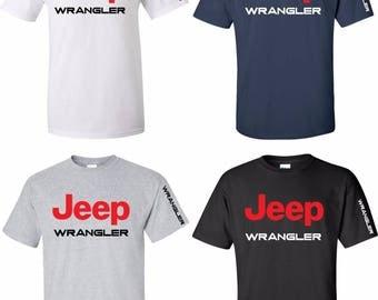 Wrangler Logo Etsy - Jeep logo t shirt