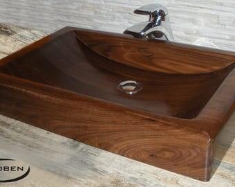 Sinks in Walnut