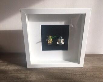 LEGO Star Wars Yoda and R2D2 framework