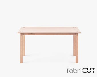 Wooden desk Design Office table