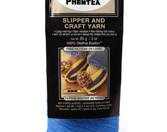 Phentex Slipper & Craft Yarn (by Bernat)