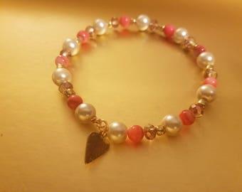 Pink-N-Pearl Bracelet