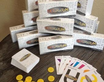 Ultimatum Card Game