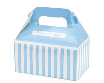 Mix & Match Blue Treat Boxes