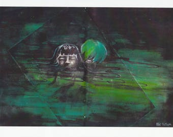 Breathe, fine art print by Billie Fiction