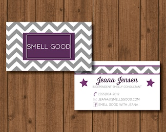 Independent Consultant/Distributor business card double sided
