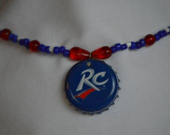 Soda Cap Necklaces - RC Cola