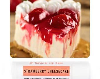 Simple Lip Balm - Strawberry Shortcake Flavor