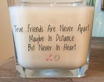 12oz. Hand Poured 'Friendship' Soy Wax Candle