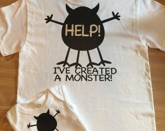 Mommy and Me Monster set