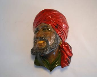 AAAAAARRRGHHHH Pirate Bust Plaque