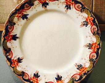 "Beautiful Vintage 9.25"" Doulton Burslem Laburnum RNo. 330852 Plate Circa 1899 - Antique"