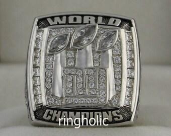 2007 New York Giants Super Bowl Championship Rings Ring