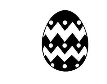 Easter Egg SVG Digital File