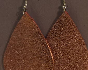 Large Teardrop - Copper