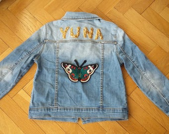 Custo name Butterfly jacket