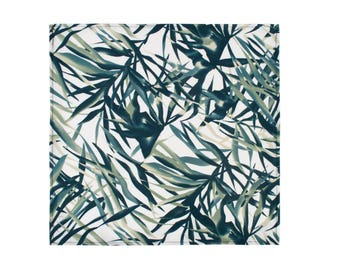 Vulcan Pocket Square - Botanical Print