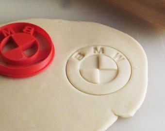 BMW Roundel Emblem Badge Cookie Cutter