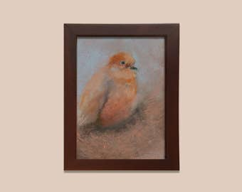 "The Newfield Gallery – ""Mourning Dove in Winter"" by E. Bisaga Dunne"