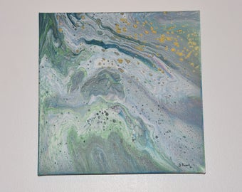 Mystic Fantasy - Abstract Acrylic Pour Painting #6