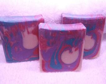 Pomegranate Ginger Handmade Artisan Soap
