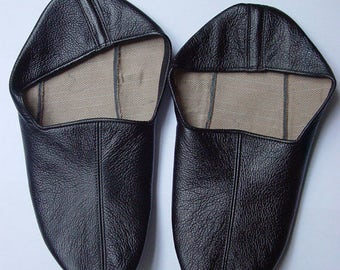 The Dervish Shoes or Slipper leather