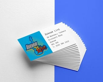 Business Cards // business card design // unique business card // custom business card // logos and branding // calling card biz marketing