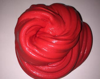 Ruby Red Fluffy Slime