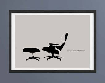 Eames Chair Print