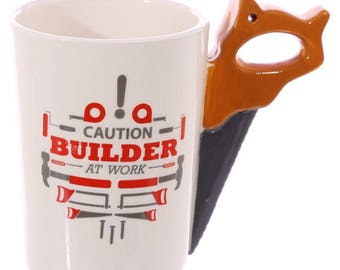 Saw Handle Mug | Builders | Gift