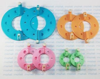 Pack 4 Pomponeras of different sizes - Pompon Maker ref. 1853536-3
