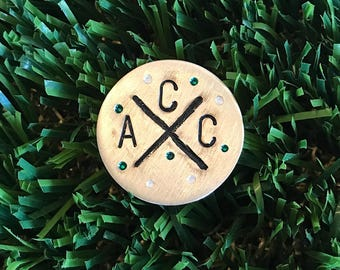 Custom Hand-Stamped Ball Markers