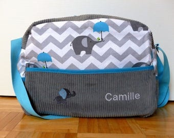 Great diaper bag personalized for walks with baby...