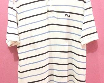 Vintage 90's FILA POLO SHIRT for sale