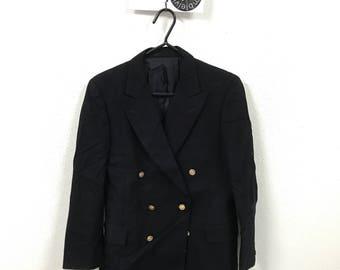 Vintage Burberry's Wool Blazer