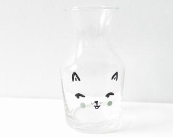 Mini cat vase