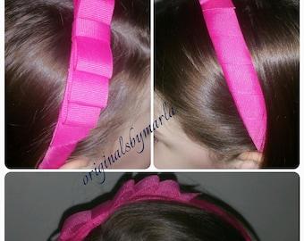 Custom color girl's headband